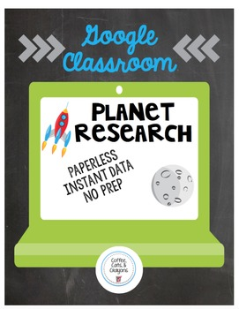 Google Classroom- Planet Research