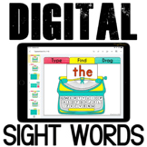 Google Classroom Sight Words Practice {Fry 1-50}