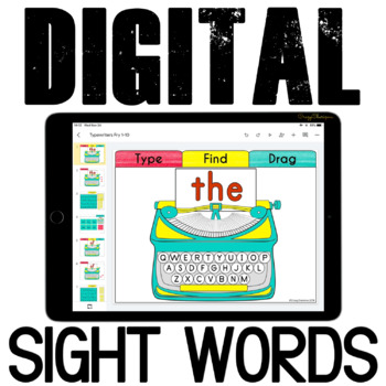 Google Classroom Sight Words Practice {Fry 1-50}