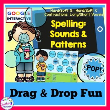 Google Classroom Spelling Sounds & Patterns