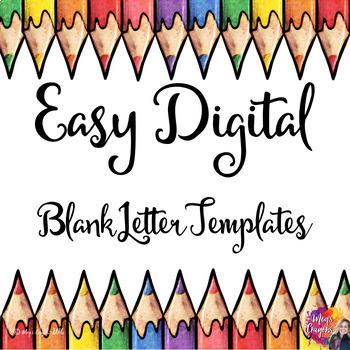 Google Doc-Blank Letter Templates