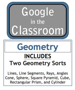 Google Docs Download Geometry Sort - 3rd Grade - VA SOL