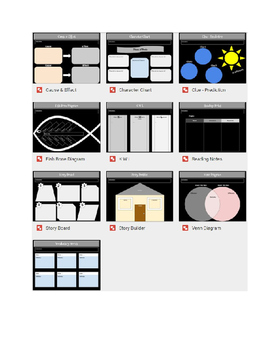 Google Docs Graphical Organizers
