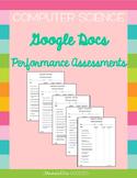 Google Docs Performance Assessment Set