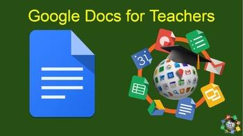 Google Docs for Teachers (Online Course)