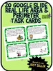 Google Drive Area and Perimeter Task Cards - Based on my B