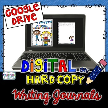 Back to School Writing Prompts Jounral for Google Drive