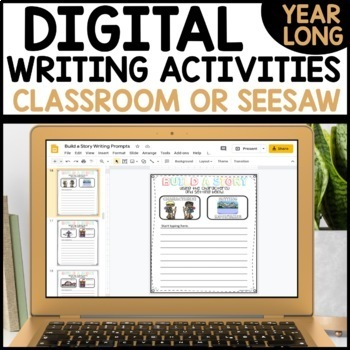 #TPTDIGITAL Google Drive Daily Writing Activities