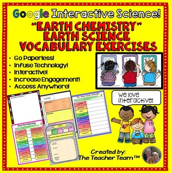 """Google Drive """"Earth Chemistry"""" Interactive Notebook for Go"""