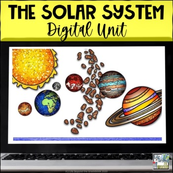 Interactive Flip Book for Google Drive - The Solar System
