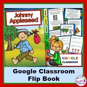 Google Classroom Johnny Appleseed Flip Book