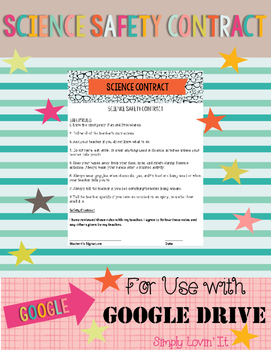 Google Drive: Science Safety Contract