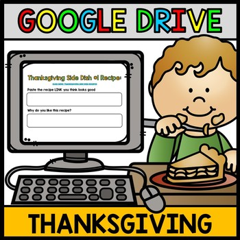 Google Drive Thanksgiving: Life Skills Recipes - Cooking -