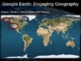 Google Earth: Engaging Geography assignment - WESTERN UNIT