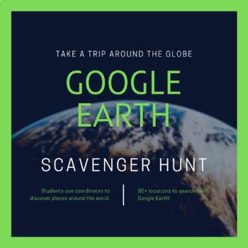 Google Earth Fun Scavenger Hunt