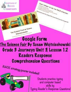 Google Form: The Science Fair by Susan Wojciechowski Reade