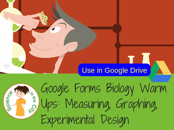 Introduction to Science Google Forms Warm Up or Exit Ticke