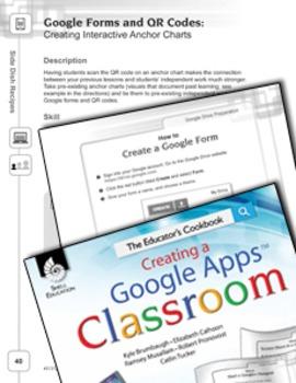 Google Forms and QR Codes--Creating Interactive Anchor Charts