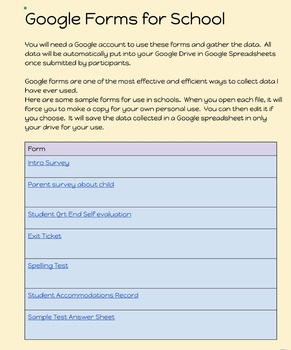 Google Forms for Teachers