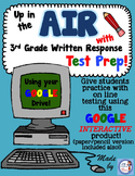 Google Interactive AIR Test Prep for 3rd Grade Writing Per