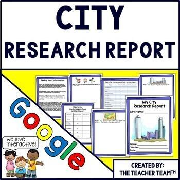 Google Drive City Report for Google Classroom