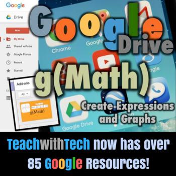 Google Math g(Math) Add-on for Google Drive
