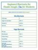 Google SITES Useful Shortcut Keys for Tech Students (Class
