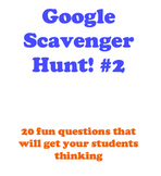 Google Scavenger Hunt- Part 2
