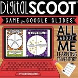 GOOGLE SLIDES DIGITAL SCOOT - All About Me Learning Inventory