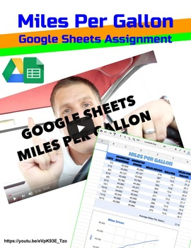 Google Sheets Miles Per Gallon Assignment