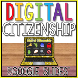 Digital Citizenship Student Project in Google Slides
