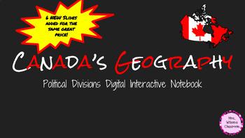 Google Social Studies Digital Interactive Notebook Canada'