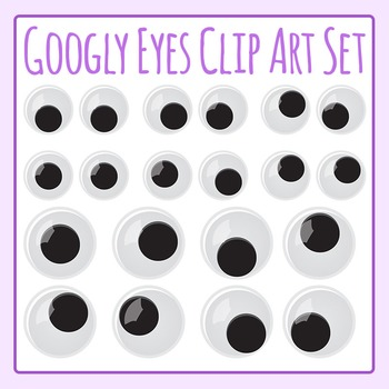 Googly Eyes Goggly Eyes Stick On Clip Art Commercial Use