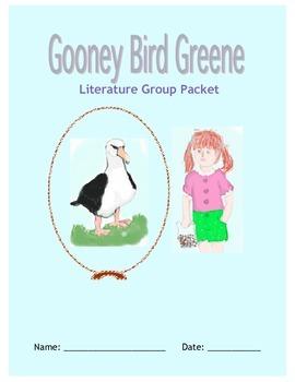 Gooney Bird Greene Literature Circle Packet