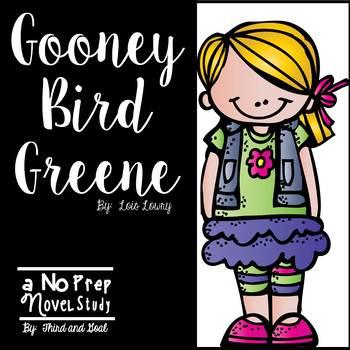 Gooney Bird Greene Novel Unit or Guided Reading Pack