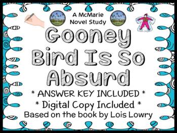 Gooney Bird Is So Absurd (Lois Lowry) Novel Study / Compre