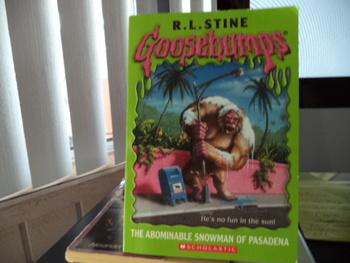 Goosebumps: The Abominable Snowman of Pasadena ISBN 0-439-56824-2