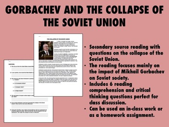 Gorbachev and the Collapse of the Soviet Union - Global/Wo