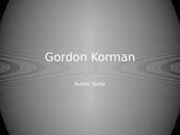 Gordon Korman Author Study PowerPoint Swindle Book