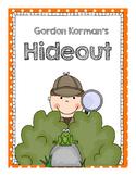 Gordon Korman's Hideout, a Swindle Mystery