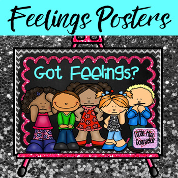 Got Feelings?  Set of 15 Posters