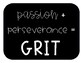 Got Grit? Lesson plans and planning pages