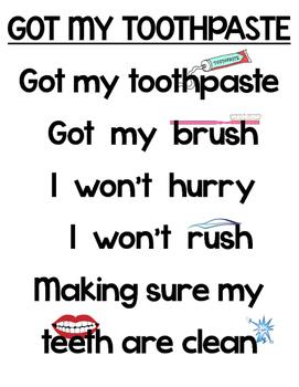 Got My Toothpaste - A Dental Health Poem