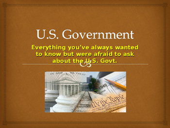Government PowerPoint