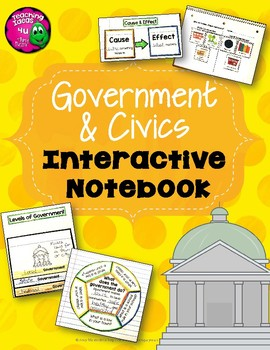 Government and Civics Interactive Notebook North America