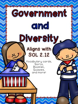 Government and Diversity SOL 2.12