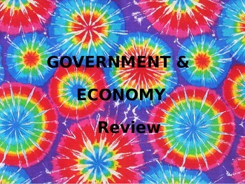 Government and Economics Review