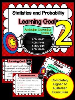 Gr 2 Maths  Statistics & Probability Learning Goals & succ