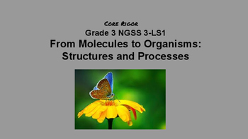 Gr. 3 From Molecules to Organisms: Structures and Processe