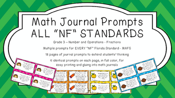Gr 3 Math Journal Prompt/Topic Florida Standards MAFS Numb